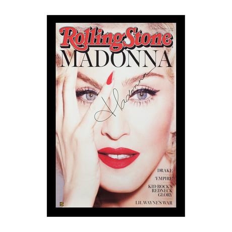 Framed + Signed Poster // Madonna