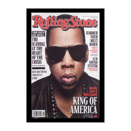 Framed + Signed Poster // Jay Z