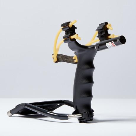 Tactical Slingshot W71 + Laser