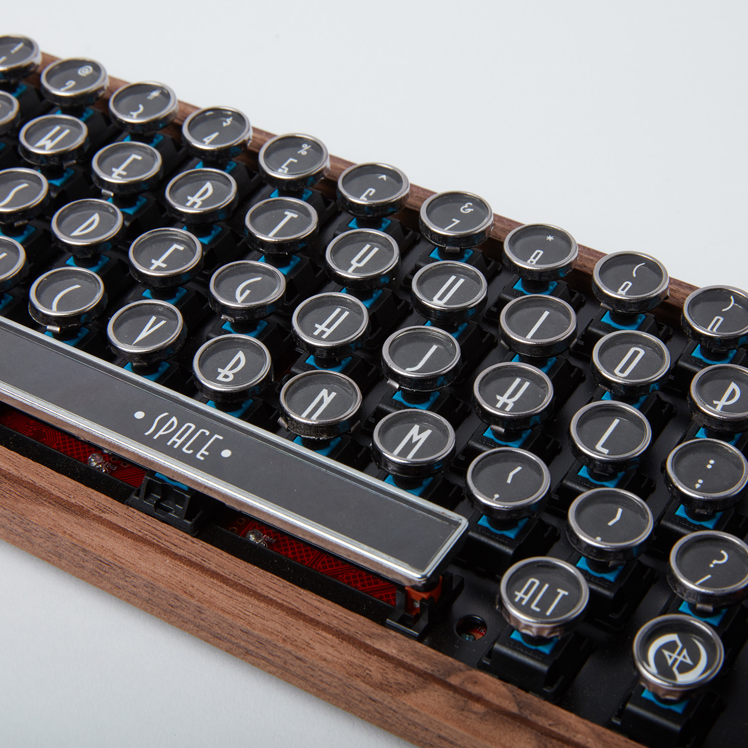 Typewriter keyboard clicky key style datamancer for What is touchofmodern