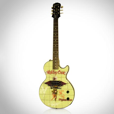 Autographed Guitar // Motley Crue