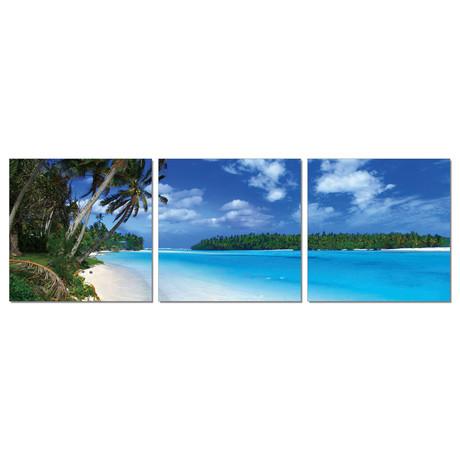 """Getaway Beach (72""""W x 24""""H x 1""""D)"""