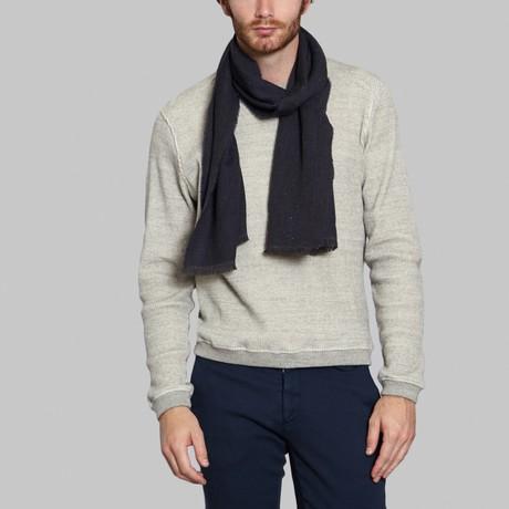 Wool Scarf // Blue