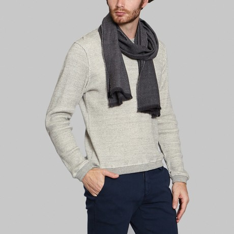 Wool Scarf // Gray