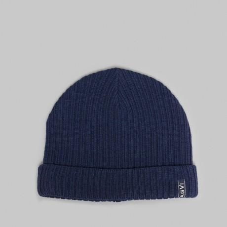 Wool Beanie // Blue