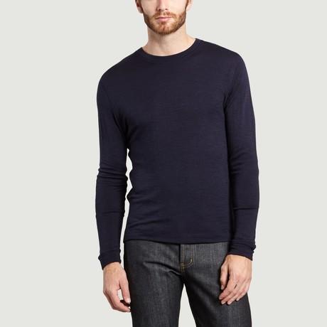Round Neck T-Shirt // Blue (S)