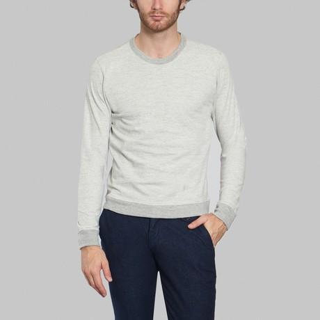 Round Neck Sweatshirt // Light Grey (S)