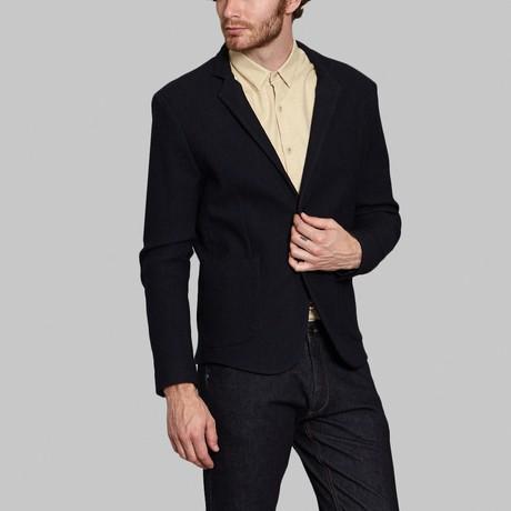 Wool Blazer // Dark Navy (S)