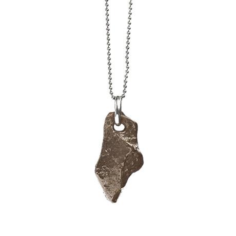 Shard II Necklace // Bronze