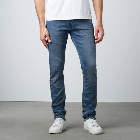 Skinny Jeans // Solid Blue
