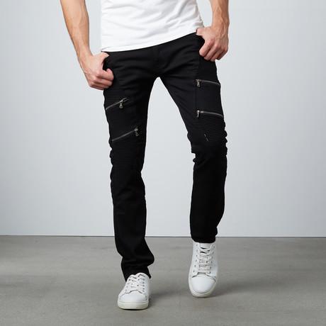 Utility Standard Slim Jean // Black (30WX32L)