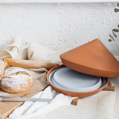 The Glazed Spring Oven + Baking Book (Blue)