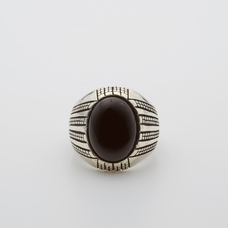 Special Onyx Stone Ring (Size 8.5)
