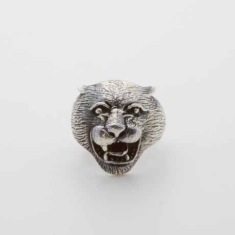 Gothic Cougar Ring (Size 8.5)