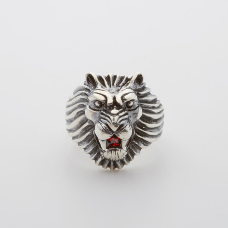 Great Lion Roar Ring (Size 8.5)