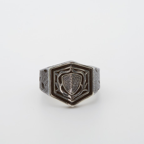 Shield Ring (Size 8.5)