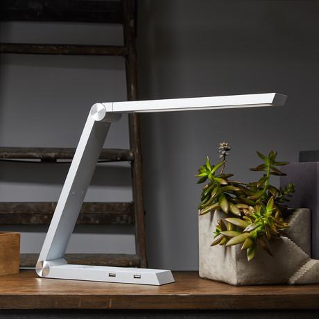 Qi Charging LED Desk Lamp // Satellite