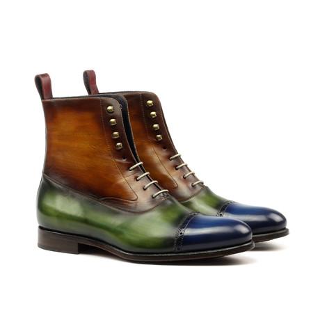 Balmoral Patina Boot // Brown Gradient