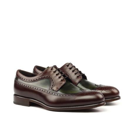 Longwing Blucher // Brown + Green