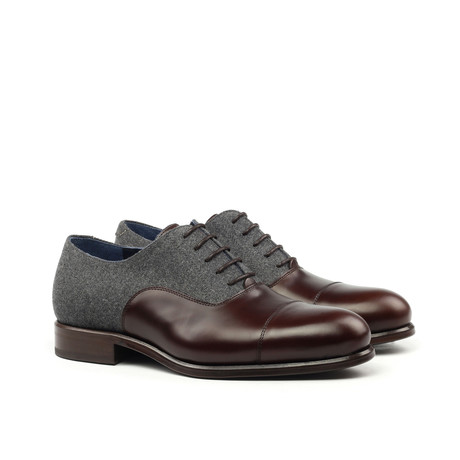 Cap-Toe Oxford // Brown