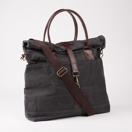 Hudson Tote Bag // Asphalt Grey