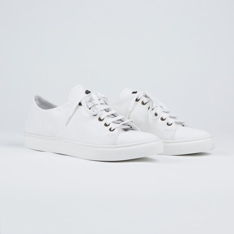 Basic Canvas Shoes // White (Euro: 41)