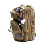 Fully Loaded Tactical Backpack // Khaki