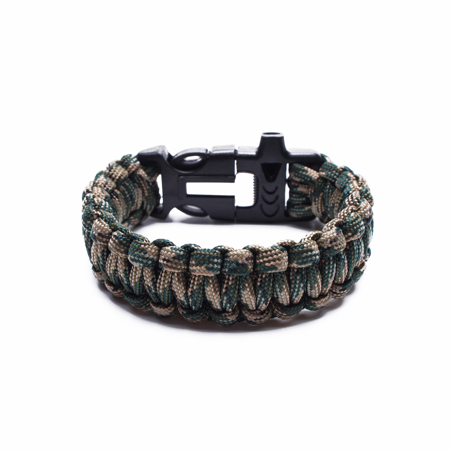 Tactical Paracord Bracelet Green Camo Something Strong Touch