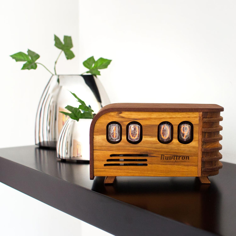 The Vintage Nixie Tube Clock // Watt - Nuvitron - Touch of