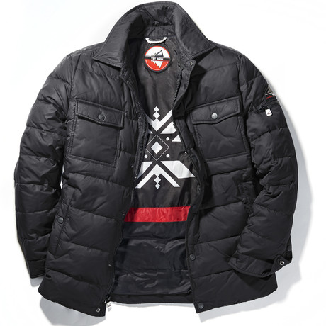 Chill Down Filled Puffer Jacket // Black