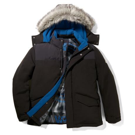 Free Ride Hooded Jacket // Black (S)