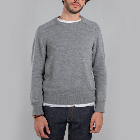 The Colin Sweater // Heather Grey