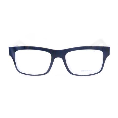 Unisex DL5034 Frames // Navy + White