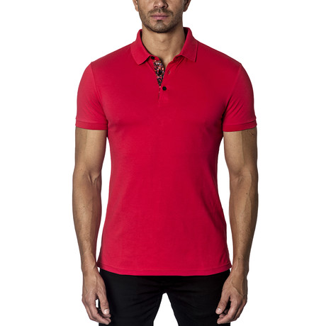 Knit Polos // Red (S)