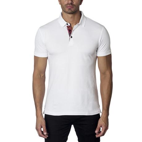 Knit Polos // White (XL)