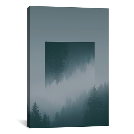 "Mirrored Landscapes // Karwendel // Joe Mania (26""H x 18""W x 0.75""D)"