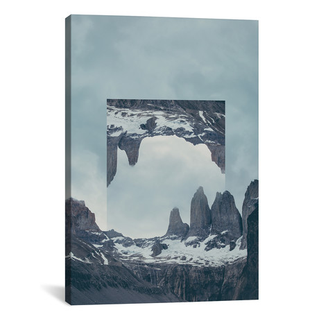 "Mirrored Landscapes // Torres del Paine // Joe Mania (18""W x 26""H x 0.75""D)"