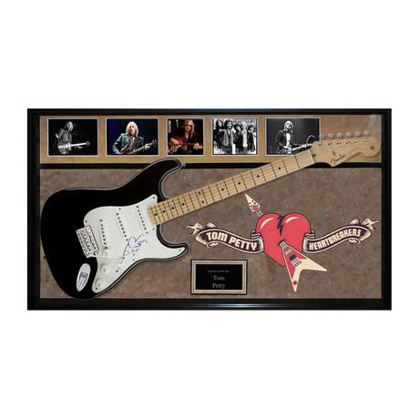 Framed + Signed Guitar // Tom Petty