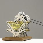 Little Pump + Marble Machine // Light Base (Assembled)