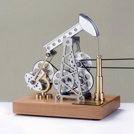 Little Pump + Texas Pump Jack // Light Base (Assembled)