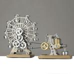 Big Power Station + Ferris Wheel // Light Base (Assembled)