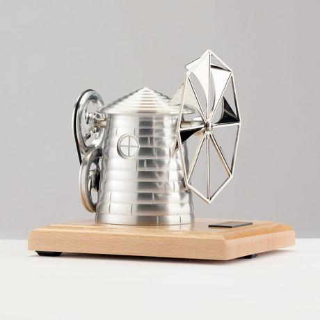 Big Power Station + Greece Windmill // Light Base (Assembled)