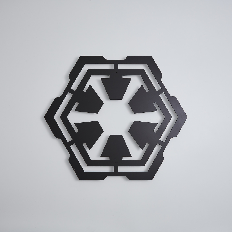 Star Wars Sith Floating Metal Wall Art 18w X 155h X 1d