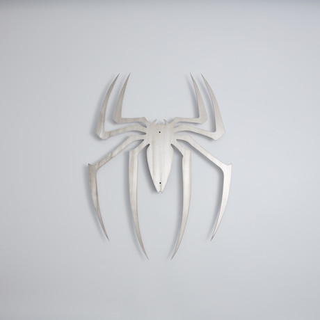 Spider-Man Logo // Floating Metal Wall Art