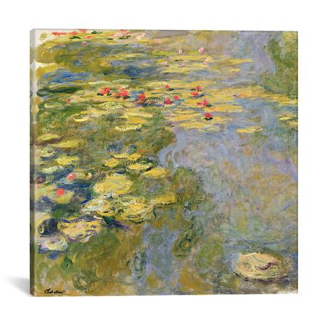 "The Waterlily Pond, 1917-19 (12""W x 12""H x 0.75""D)"
