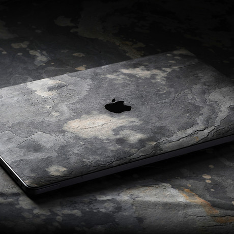 "Black Stone // MacBook Cover (Macbook Pro 13"" // Touchbar)"