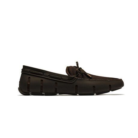 Lace Loafer // Brown