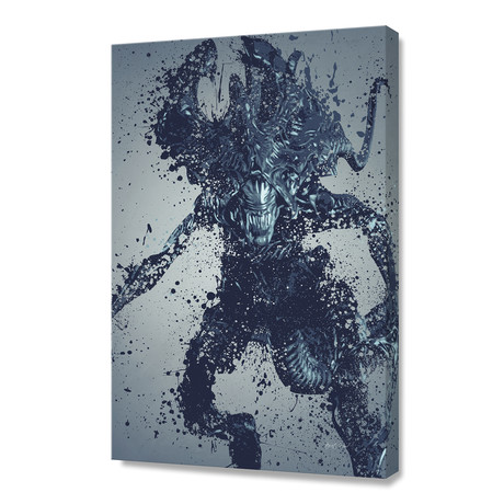 Alien King // Stretched Canvas