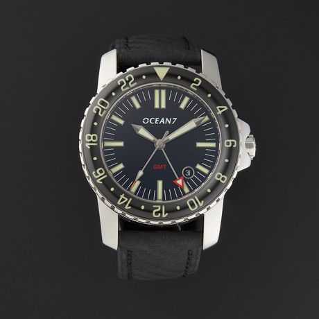 OCEAN7® Dress Diver GMT Automatic // LM-5GL