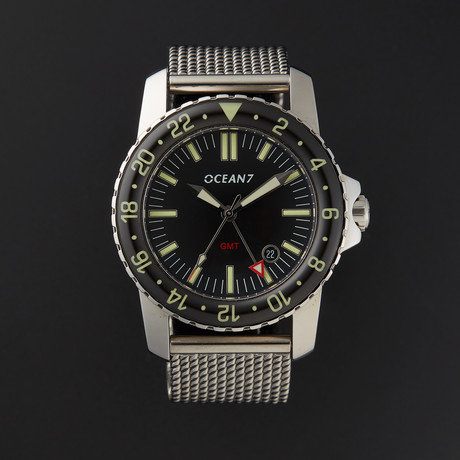 OCEAN7® Dress Diver GMT Automatic // LM-5GM